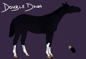 Double Down as a Yearling by Geronimo24