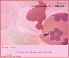 Roses Journal skin by Orange-creamsicle