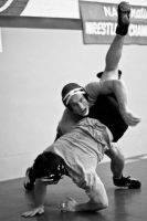 Wrestling practice by eyenoticed