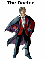 The Third Doctor by Mr-Saxon