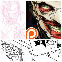 New52 Joker - preview by theCHAMBA