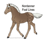 A2819 Fog Warrior - -foal design- by WhiteWoodWardens
