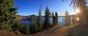 Crater lake by MyPhotoParadise
