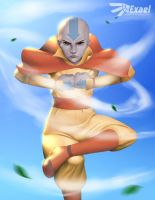 Aang - Avatar: The Last Airbender by Exael-X