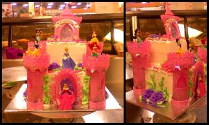 Princess Castle Cake by garfey