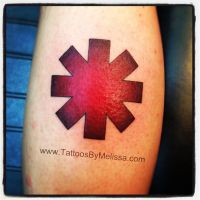 Red Hot Chili Peppers Logo by Melissa-Capo