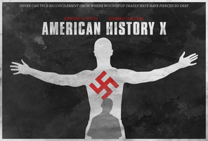 True Hatred - American History X Poster by disgorgeapocalypse