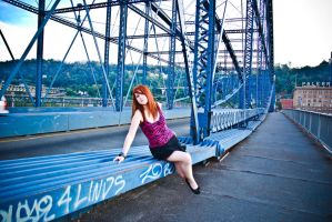 Just me, in pittsburgh by angelsfalldown1