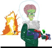 Mars Attacks! by Romantically-Geeky
