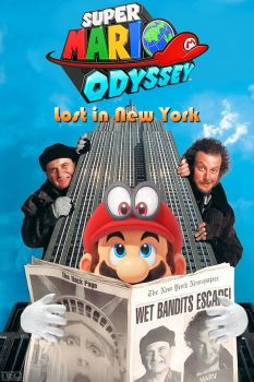 Super Mario Odyssey Lost in New York by NEO-Musume