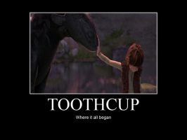 HTTYD-Toothcup by IllusionEvenstar