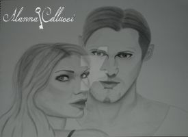 Sookie and Eric (True Blood) by alannac1122