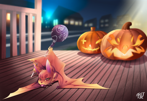 inva'z halloween by phation