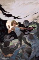 Buffy season 10 issue 1 by StevenJamesMorris