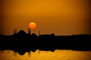 Sunset at Kadikoy by Masisus