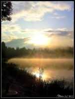 Morning mists... by anchiix