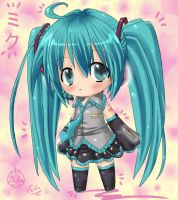 Chibi Miku - another version by GaMu-ChAn