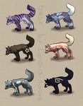 CANINE ADOPTS//5 OPEN by LucaAdopts