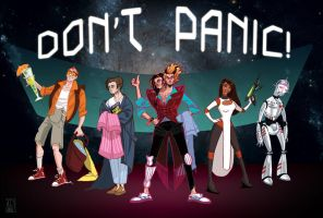 DON'T PANIC by ALCook