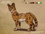 Unnamed Serval - Mini Adopt - CLOSED by Nala15