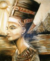 queen of pharaohs by BeutyBent