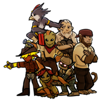 Starbound - Motley of Misfits by junijwi