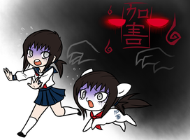 COMMISSIONED:  Ponymonster:  Ai Kaga and Pony by Fadflamer
