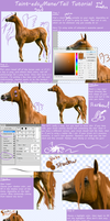Mane Tail Tutorial Thing by Taint-ed