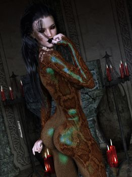 Amaria - New lover for Lady delkan by Akaisha-art3d