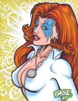 70's Dazzler in color by Burke73
