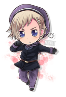 Chibi Series - Norway by say0ran