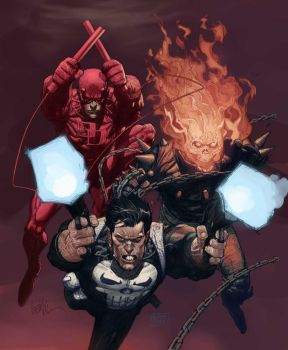 Marvel knights recolored by Niggaz4life
