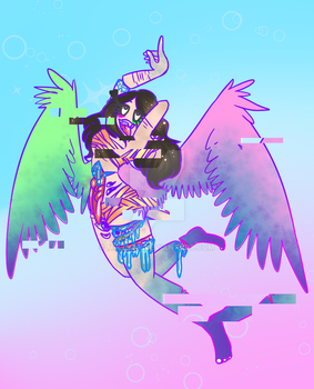 .: intoxicated :. .: pastel gore :. by MikTVty