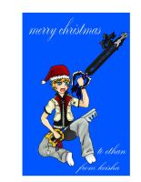 a roxas christmas by vaan123