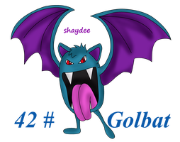 Golbat by The-Real-Shaydee
