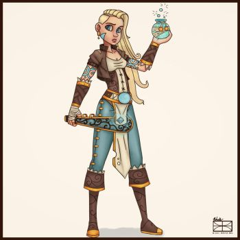 Mya Concept by DontBelieveTheTales