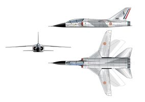 Sud Aviation fighter project by alanqua