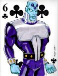 Brainiac Six of Clubs by PatrickFinch