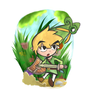 Minish Cap: Toon Link by Lucas-and-dreams