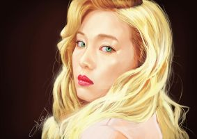 Red Velvet Irene by ExiaLohengrin
