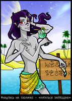 Reinis on the beach by Tintariel