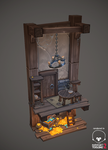 Hidden treasure diorama by AntonioNeves