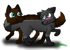lookie lovey wolfies by CoolCodeCat