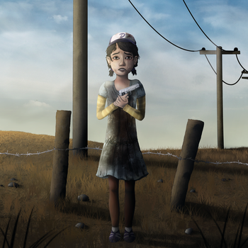 Don't be afraid, Clementine by ZeTrystan