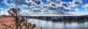 Vistula from Wawel Panorama by ThorBet