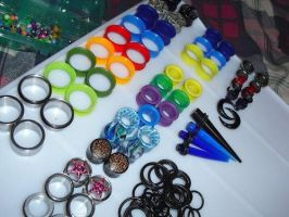 Ear Spacers by CecilyContagion
