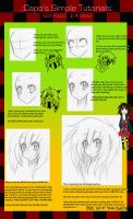 .:CST::Manga Face Tutorial:. by capochi