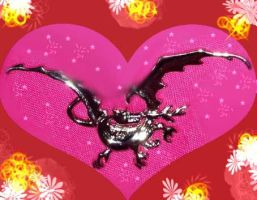 Smaug pendant BDAY cake concept by Selinelle