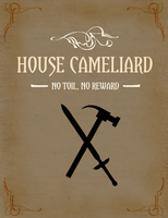 Cameliard sigil by desiredwings