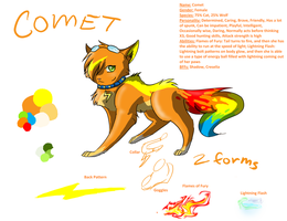 Comet Reference Sheet READ DESCRIPTION by ComIsybell